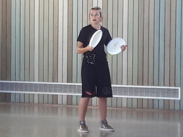 Schiller-Blog: Mathelehrerin bei Ultimate-Frisbee-Turnier