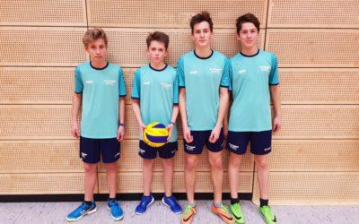 Erfolg für die Volleyballer des Schiller-Gymnasiums