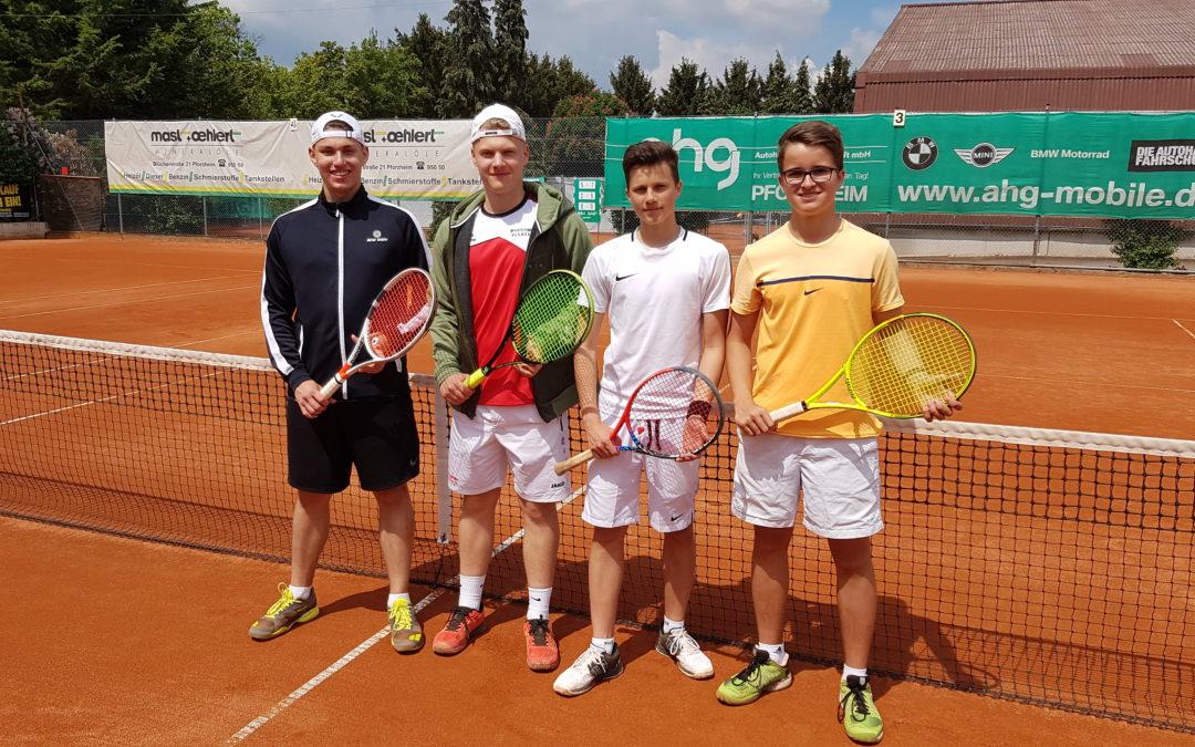 Toller Erfolg für die Schiller-Tennismannschaft