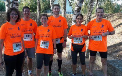 Schiller-Laufteam zeigt beim 3. AOK-Firmenlauf seine Qualitäten