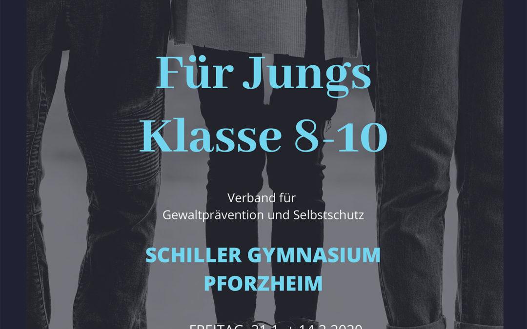 Jugendliche stärken –  Selbstbehauptungskurs am Schiller-Gymnasium