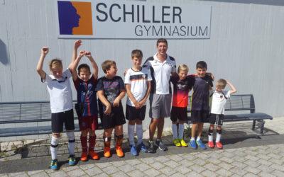 """Kinderferienfußball am """"Schiller"""" auch in der 3. Auflage ein Erfolg"""