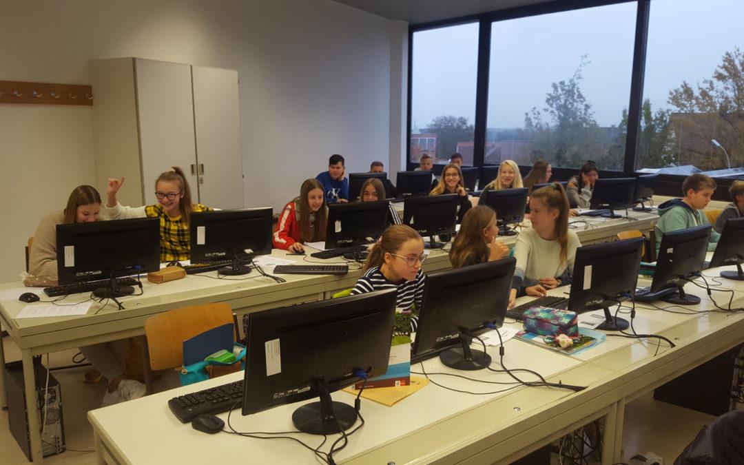Erziehung zum eigenständigen Arbeiten und Handeln – GFS-Training am Schiller-Gymnasium