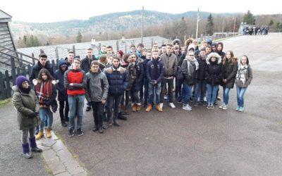 Exkursion ins ehemalige Konzentrationslager Natzweiler-Struthof