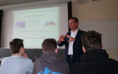 Diskussionsveranstaltung mit Gunther Krichbaum über die Europäische Union