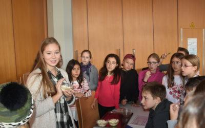 Schiller-Blog: Geschmacksprobentest am Tag der Schulverpflegung