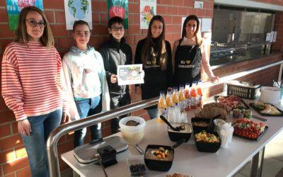 Schulfrühstück von EDEKA FEDELE am Schiller-Gymnasium in Büchenbronn