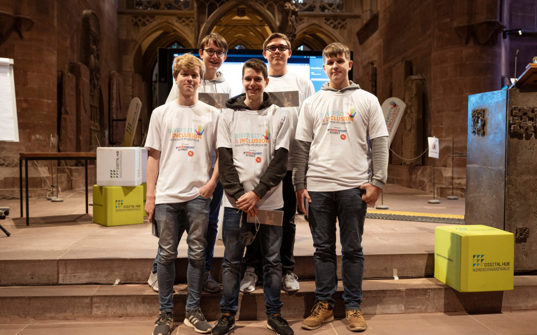 Erfolgreiche Teilnahme am Hackathon