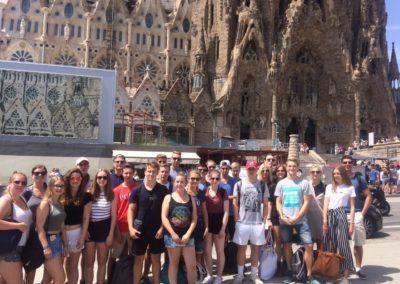 Bericht über die Studienfahrt nach Barcelona