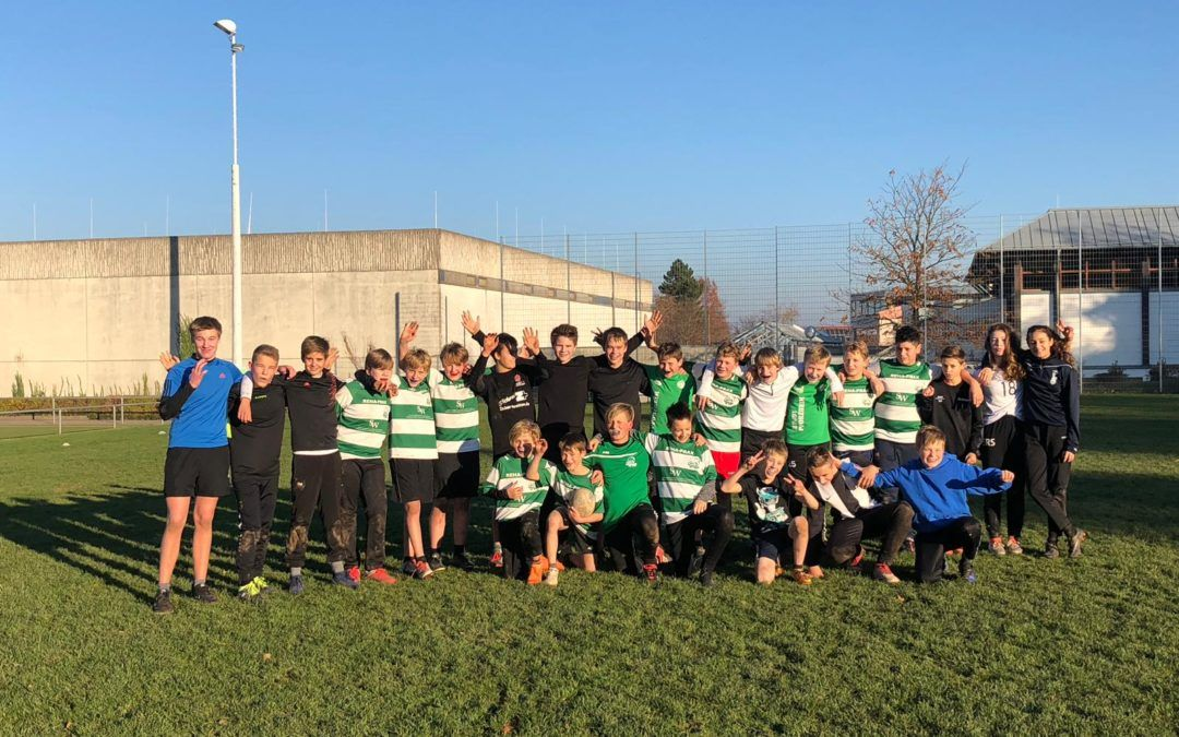Freundschaftsspiel der Rugby-AG