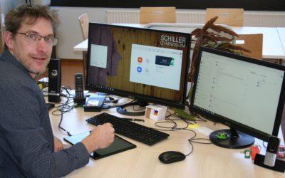 Neue Arbeitsformen durch den Heimunterricht am Schiller-Gymnasium