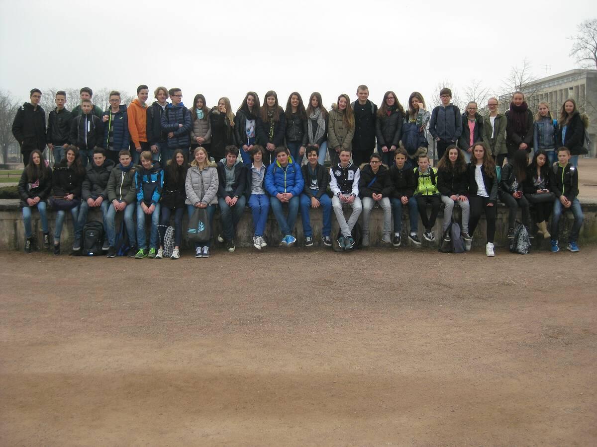 Schüleraustausch des Schiller-Gymnasiums mit dem Collège Pierre Mendès  in Woippy (Metz)