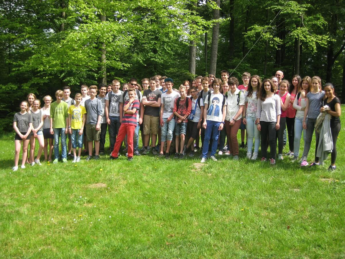 Besuch unserer Partnerschule aus Woippy