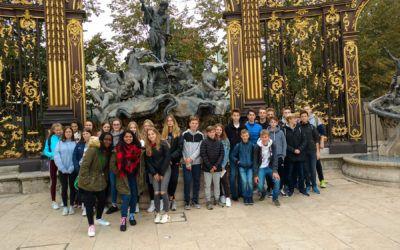 Exkursion der Französisch-Klassen 9 nach Nancy