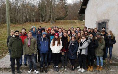 Die Dimension des Verbrechens ist so schwer zu verstehen. Besuch der 10. Klassen im ehemaligen Konzentrationslager Natzweiler-Struthof