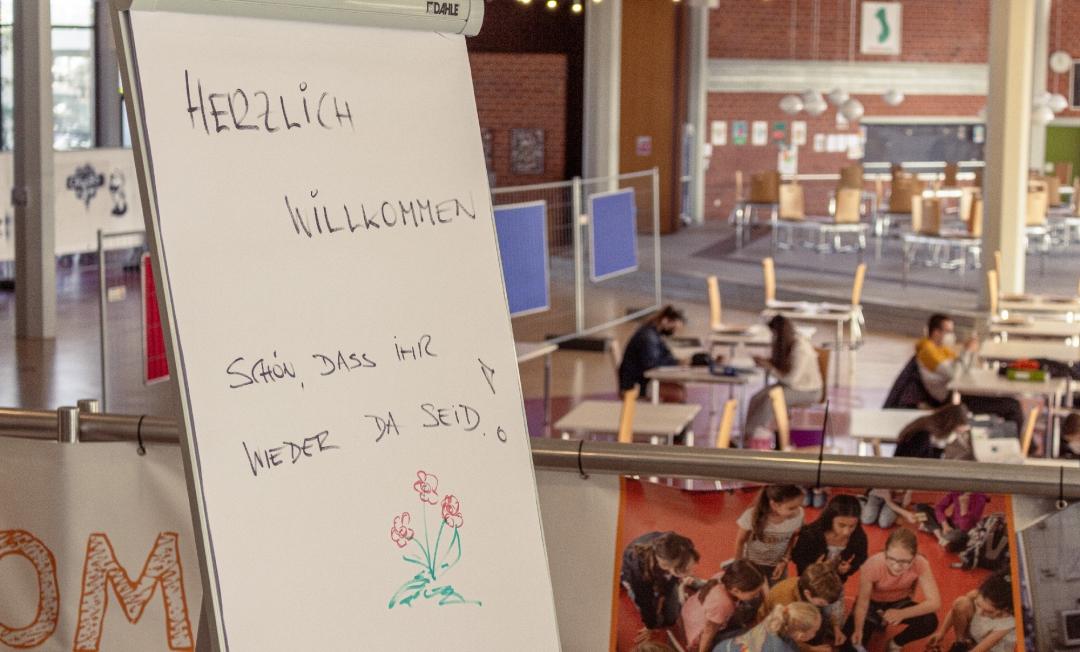 Abiturvorbereitung am Schiller-Gymnasium unter Corona-Bedingungen