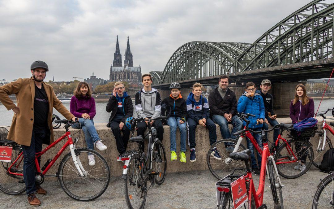 Exkursion des Lateinkurses Klasse 9 nach Köln