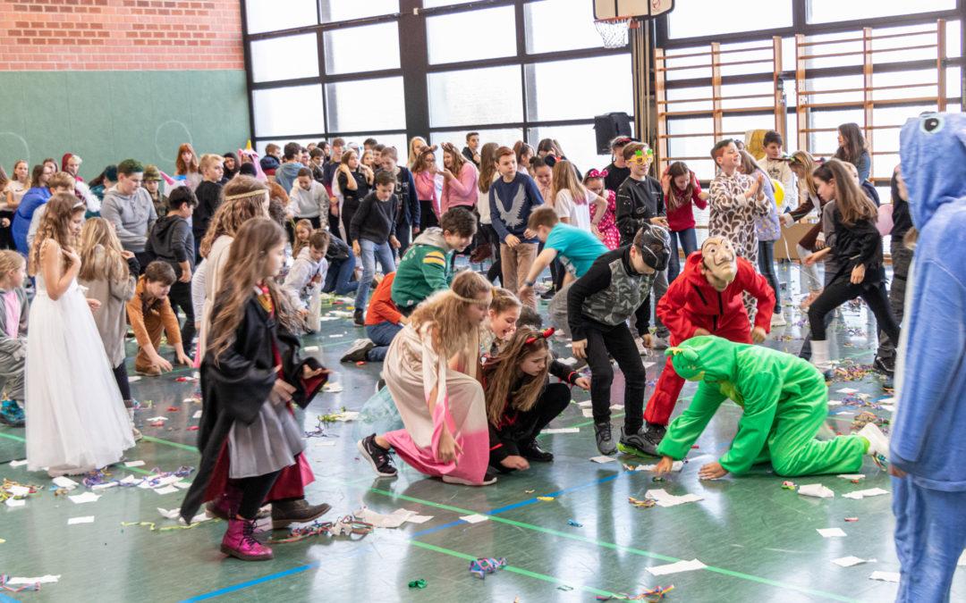 Faschingsfeier für die Unter- und Mittelstufe
