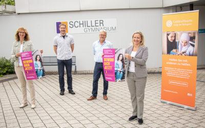 GoldenHearts und Schiller-Gymnasium kooperieren