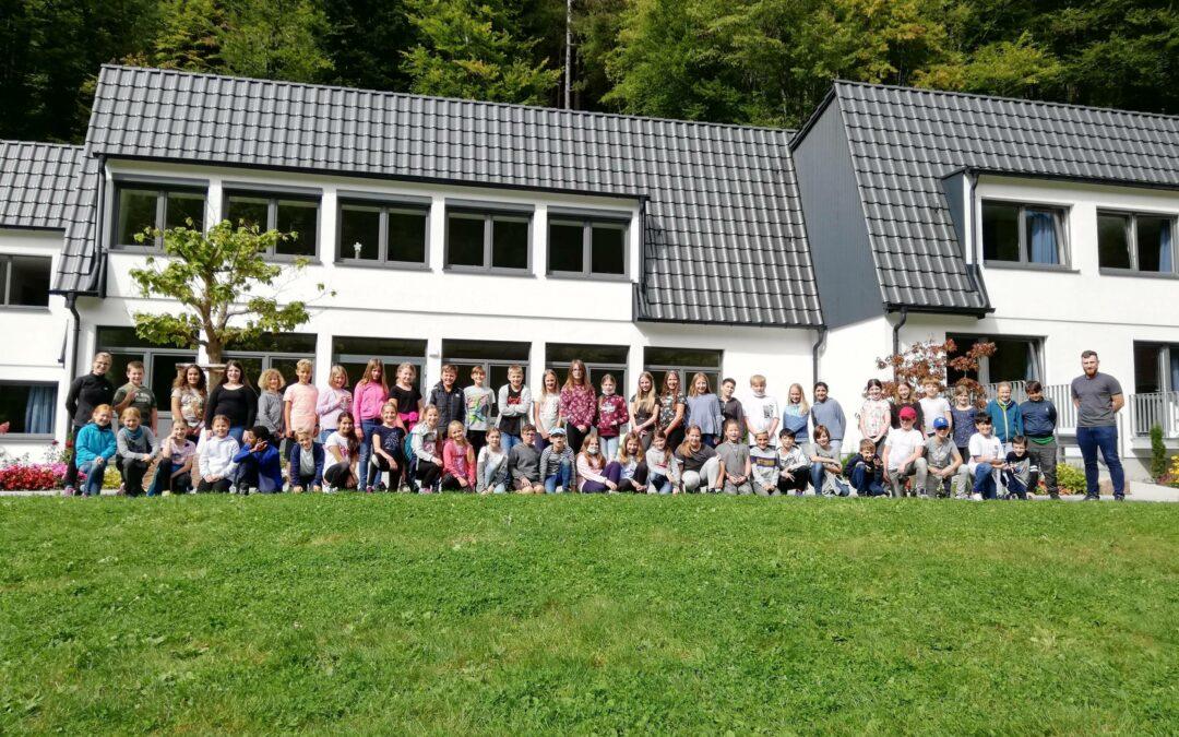 Kennenlerntage der fünften Klassen im Monbachtal