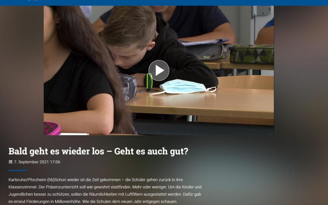 TV-Beitrag bei Baden TV