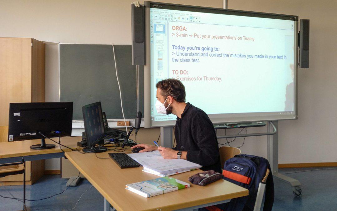 Ein schneller Wechsel – Digitaler Unterricht am Schiller-Gymnasium