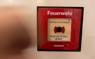 Effektivste Brandschutzübung am Schiller