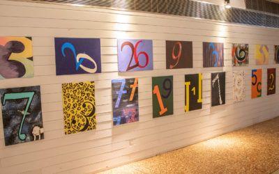 Magie der Zahlen – Neugestaltung des Foyers   Kalender 2019