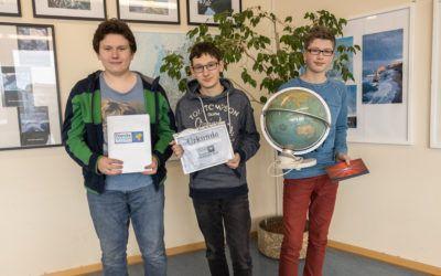 Daniel Schnabel gewinnt nach spannendem Finale den schulinternen Geographie-Wettbewerb!