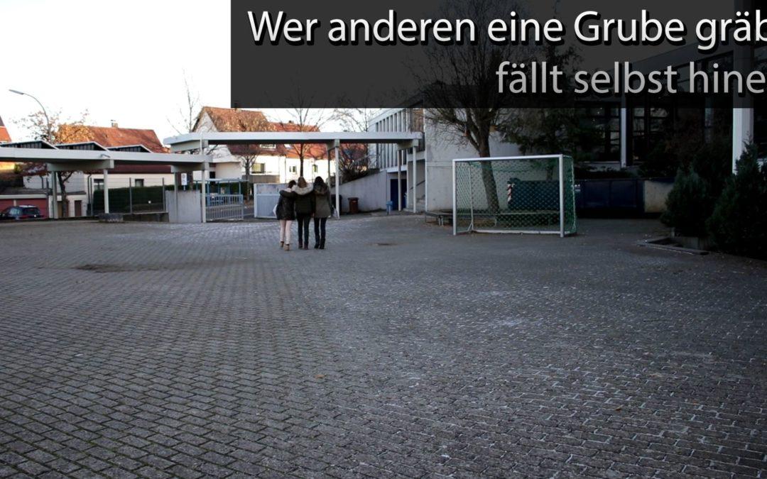 Schiller-Tube: Wer anderen eine Grube gräbt …