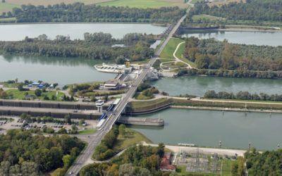 Geographische Exkursion der J12 zum Rheinkraftwerk Iffezheim