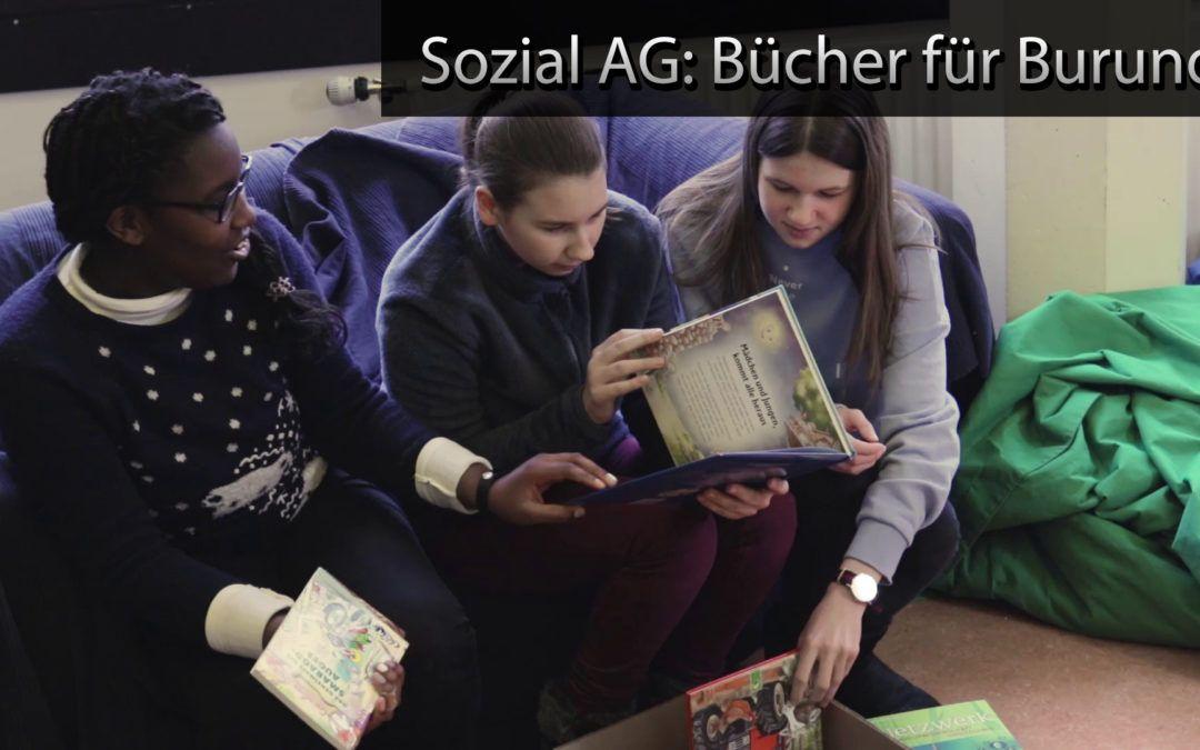 Schiller-Tube: Bücher für Burundi