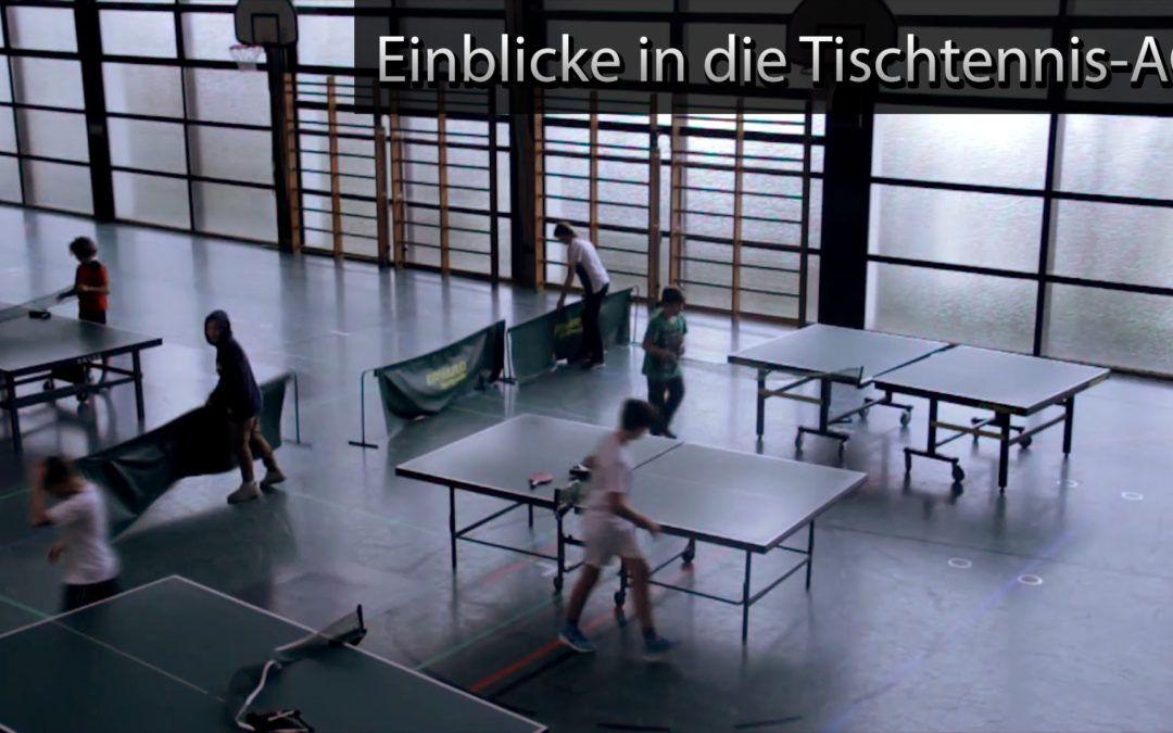 Schiller-Tube: Einblick in die Tischtennis AG